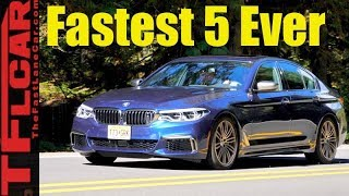 Yes, The 2018 BMW M550i xDrive is the Fastest 5 Series Ever!