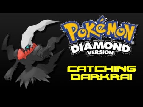 Pokemon Diamond: How to Catch Darkrai (Using Action Replay Code)