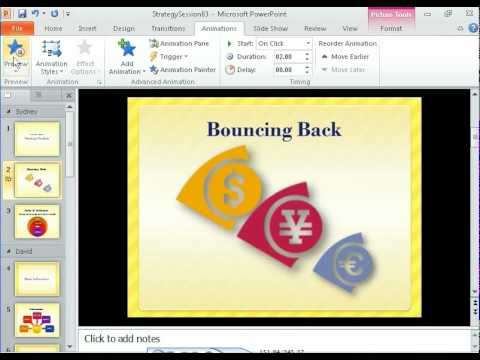 PowerPoint 2010 - Adding Animations