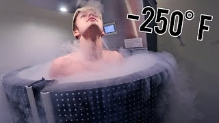 3 MINUTE CHALLENGE IN AN ICE CHAMBER!