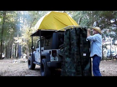 RackAbilities DIY Jeep Wrangler Shower