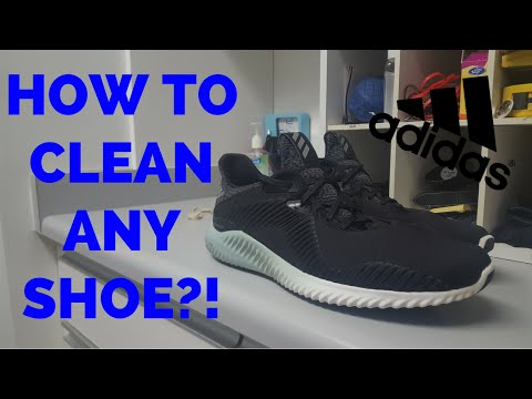 HOW TO CLEAN ANY SHOE!!!