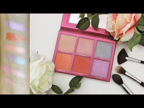 Sigma NEW ChromaGlow Palette Review and Swatches | MakeupAndArtFreak