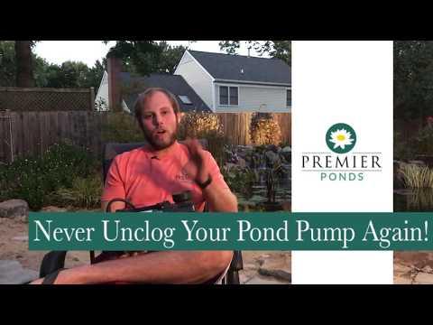 Non-Clogging Pond Pump