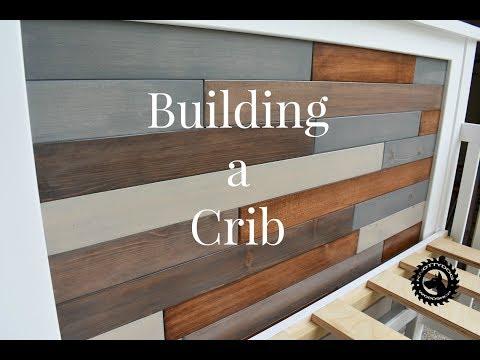 Building a Rustic-Modern Crib