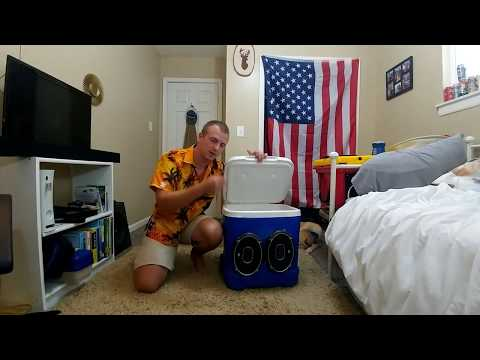 How to make a Speaker Cooler! (HOLDS ICE!)