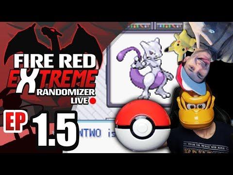 WE BACK W/ SHENANIGANS! LIVE 🔴 Pokemon Fire Red EXTREME Randomizer Nuzlocke Live Part 1.5