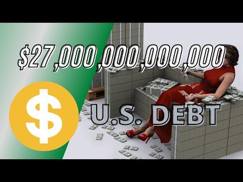 $17 Trillion U.S. DEBT -  A Visual Perspective