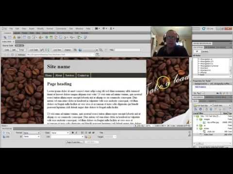 Dreamweaver - how to make your background image resize automatically