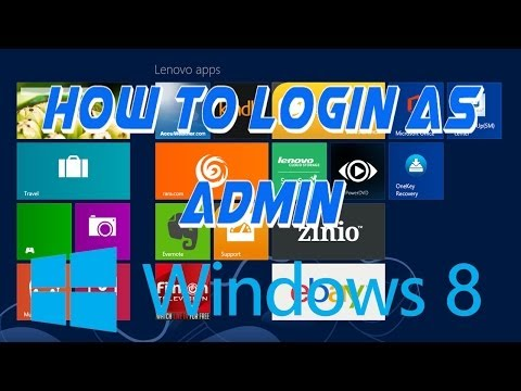 How to unlock and login as the built in administrator in windows 8/8.1