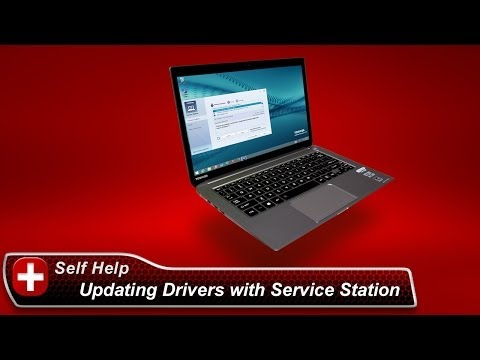 Toshiba How-To: Updating drivers and software using Toshiba Service Station