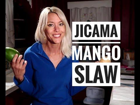 Jicama  & Green Mango Vitamin C rich Slaw- Paleo and Autoimmune Protocol compliant