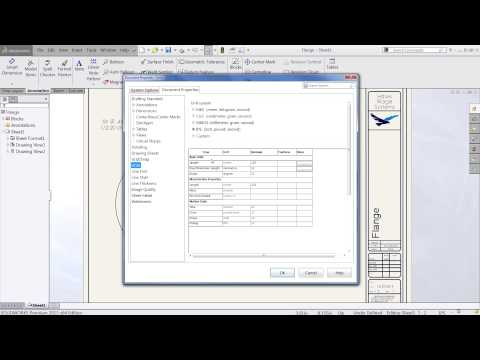 SOLIDWORKS - Changing the Document Units to Display as Fractions