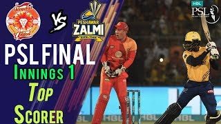 Chris Jordan Batting | Peshawar Zalmi Vs Islamabad United  | Final | 25 March | HBL PSL 2018