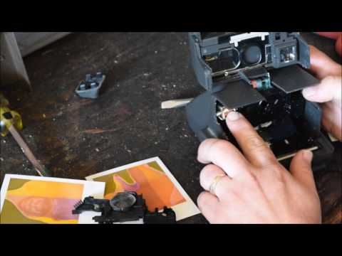 Whats inside a polaroid camera  Take a look at the inner workings of a instant camera and film and h