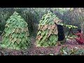 Download Secret Of Primitive: Building House By Using Leaves MP3,3GP,MP4