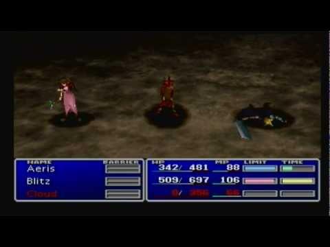 Final Fantasy VII - NINSMNUWRAO - E. Skill Battle 13 - Death Sentence