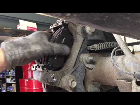 How to replace Ford F-150 rear brake pads