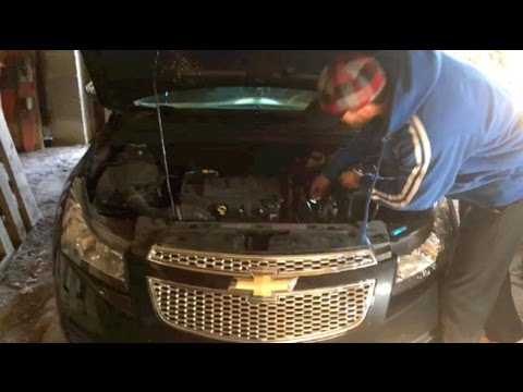 Chevy Cruze Oil Change - STEP BY STEP