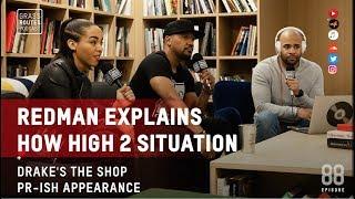 Redman explains How High 2 situation, Drake