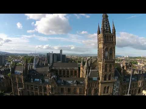 University of Glasgow from the Air