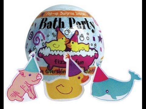 Fizzy Bath Party Bomb