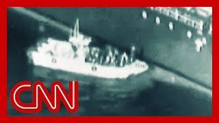 US: Video shows Iran removing unexploded mine from tanker