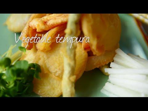 How to make Japanese vegetable tempura