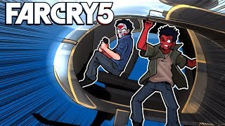 Far Cry 5 - DANGEROUS HELICOPTER RIDES! Ep. 12!