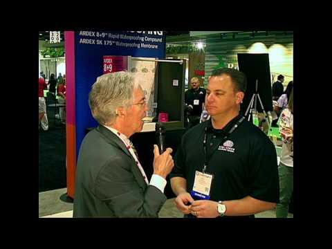 Ben Mack, director marketing, Ardex Americas on Ardex