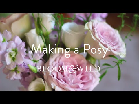 How to Make a Posy with Bloom & Wild