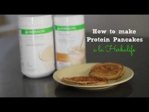 How to make Protein Pancakes a la Herbalife