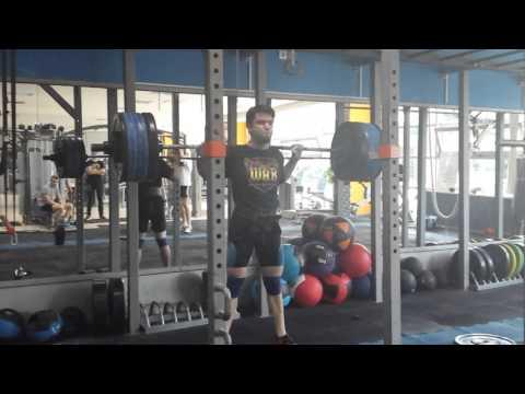 Squat 150kg x5