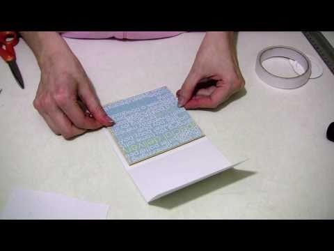 'Pop up pram'  baby card tutorial with Lesley Oman