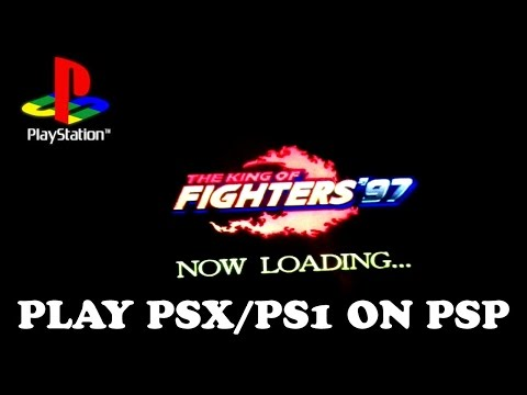 How to play PSX games on PSP - Play PS1 games on PSP  - tested with PSP 1000/2000/3000/GO