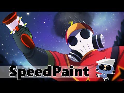 SPEED PAINT #5 - TF2 Cinnabar's loadout