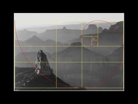 Ansel Adams & The Golden Rectangle, Ratio, Number Phi & Spiral in Photography & Fine Art Composition