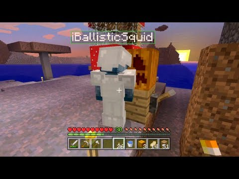 Minecraft Xbox - Quest To Kill The Ender Dragon - Pumpkin kisses - Part 9