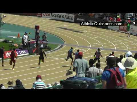 2017 USATF Mens 200m final. Ameer Webb 20:09. Sacramento State U.