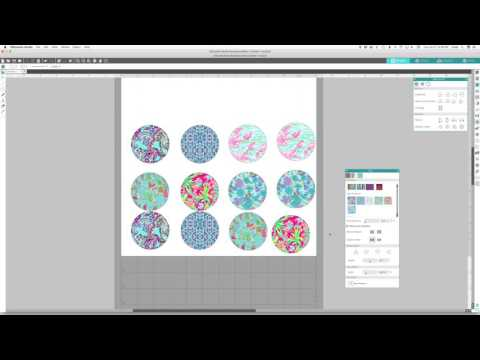 How to Make a Digital Patterned Vinyl Color Chart