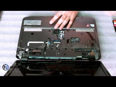 Acer Aspire 5738 - Disassembly and cleaning