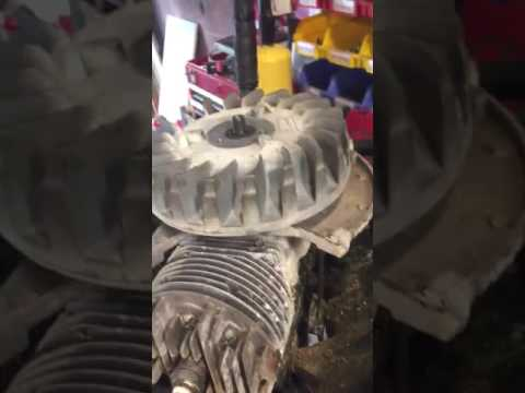 How to remove the flywheel on a small engine without a puller.
