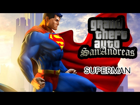 GTA SA  - MOD SUPERMAN(Instalação + Download)