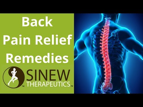 Back Pain Relief Remedies