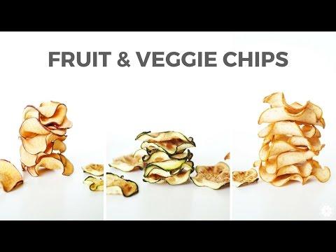 DIY Fruit & Veggie Chips | Easy Healthy Snack | Collab with Melanie Ham | Healthy Grocery Girl