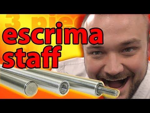 3-Piece Aluminum Escrima Staff - Unboxing and Review | KarateMart.com