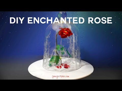 DIY Enchanted Rose Tutorial from Disney's Beauty & the Beast Live Action Movie