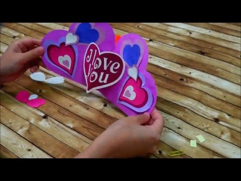 Canvas Project : Valentine's Pop-up Card