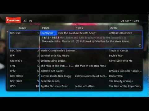 i-CAN Easy HD 2851T - Freeview HD DVB-T2 Set-top box - promo video