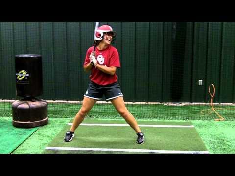 Lauren Chamberlain Hitting